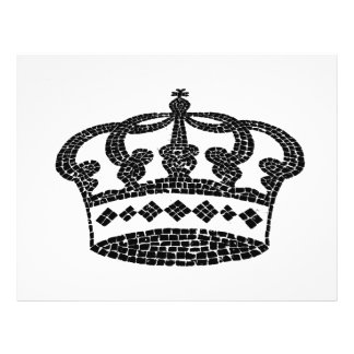 Crown graphic design 21.5 cm x 28 cm flyer