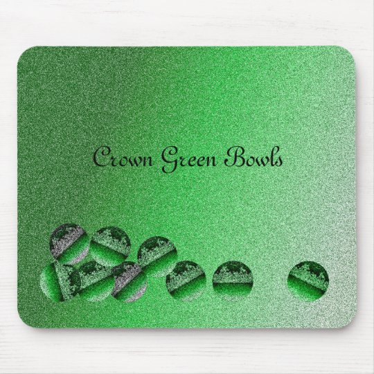 Crown Green Bowls Mouse Mat