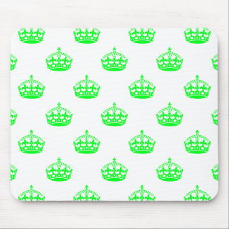 Crown Green Mouse Pad