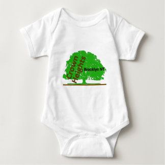 Crown Heights Tree #2 Baby Bodysuit