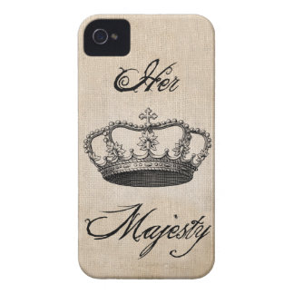 "Crown "" Her Majesty"" iPhone 4 Cases"