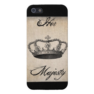 "Crown ""Her Majesty"" iPhone 5 Case"