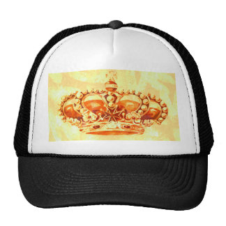 Crown in Gold Hat