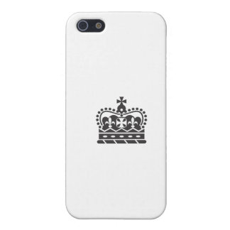 Crown iPhone 5/5S Cover