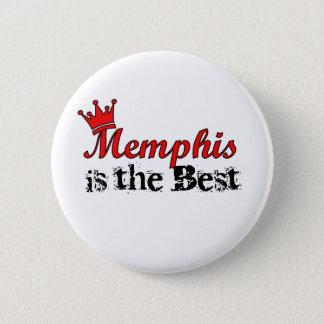 Crown Memphis 6 Cm Round Badge