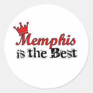 Crown Memphis Sticker