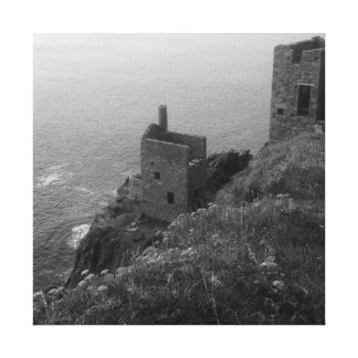 Crown Mines Botallack Cornwall England Canvas Print