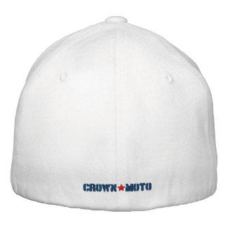 Crown Moto Autograph Hat Embroidered Baseball Cap