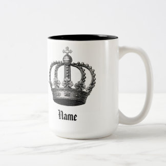 Crown Mugcup Two-Tone Coffee Mug