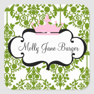 Crown Name stickers