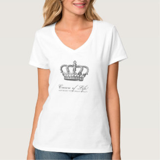 Crown of Life Christian Get right with Christ Tshirt