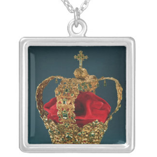 Crown of the Andes Silver Plated Necklace