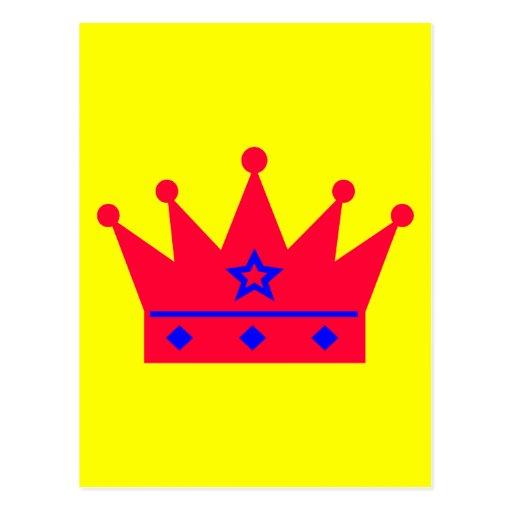Crown Post Card