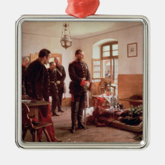 Crown Prince Frederick by the corpse Christmas Ornament