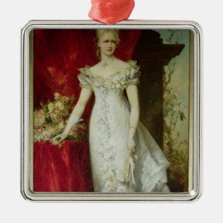 Crown Princess Stephanie of Belgium Christmas Ornament