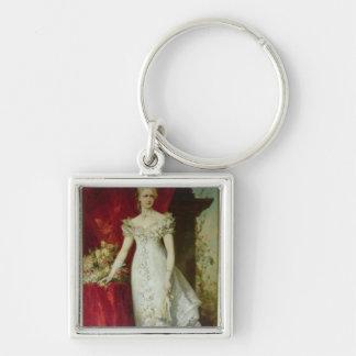 Crown Princess Stephanie of Belgium Key Ring