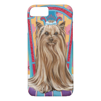 Crown Princess Yorkie iPhone 7 Case