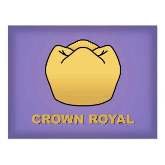 """Crown Royal"" Post-Card Postcard"