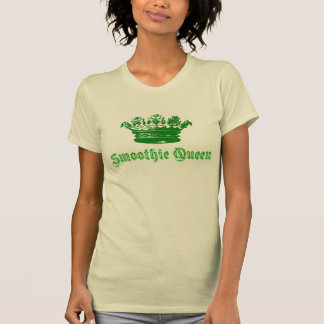 Crown Smoothie Queen Design T-Shirt