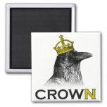 CROWn Square Magnet