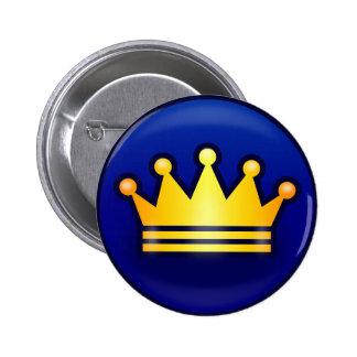 crown Standard, 2¼ Inch Round Button