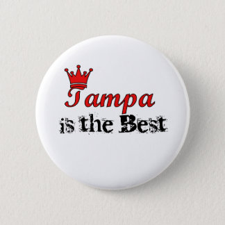Crown Tampa 6 Cm Round Badge