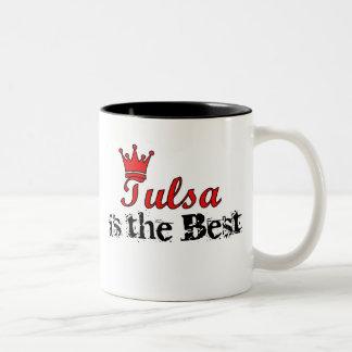 Crown Tulsa Two-Tone Coffee Mug