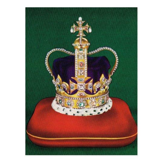 Crown used at coronastion of Queen Elizabeth II