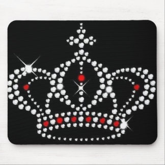 Crown with Bling Mousepad