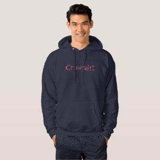 crowndit blue and pink hoodie
