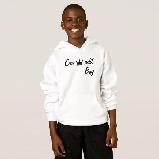 Crowndit boy hoodie