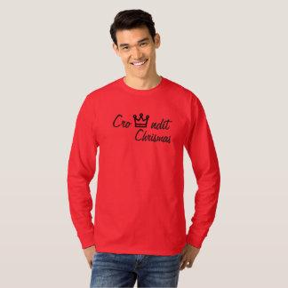 Crowndit chrismas red long sleeve T-Shirt