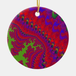 Crowned Jewel Fractal Art Ornament