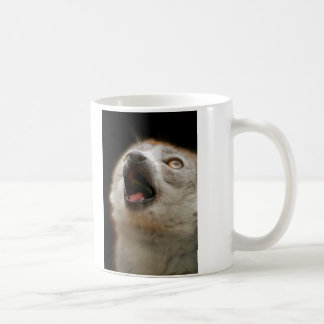 Crowned Lemur Singing Coffee Mug