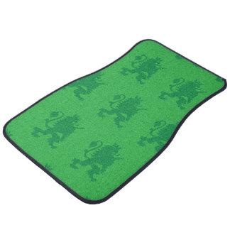 Crowned Lion Greens Floor Mat