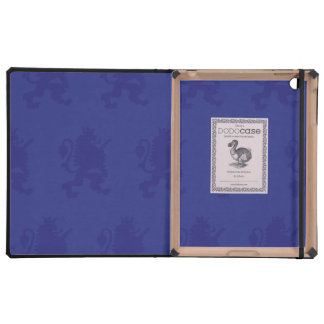 Crowned Lion Purple iPad Cover