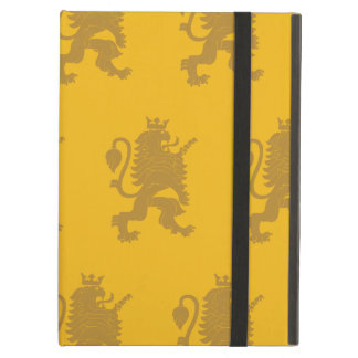 Crowned Lion Yellows Case For iPad Air