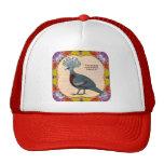 Crowned Pigeon Floral Cap