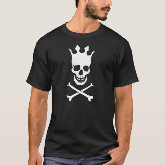 Crowned Skull Logo T-Shirt