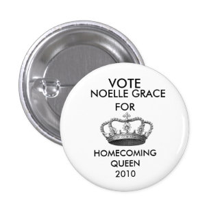 crownprincess-graphicsfairy006, VOTE, NOELLE GR... 3 Cm Round Badge