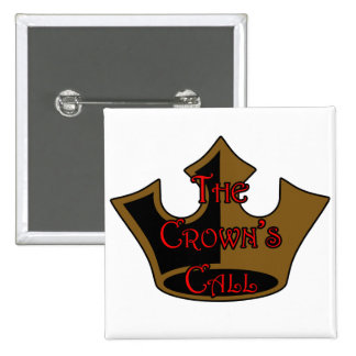 Crown's Call Logo Button Square