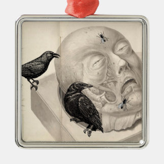 Crows and corpse christmas ornament