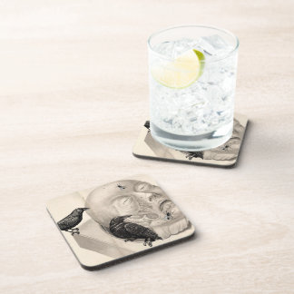 Crows and corpse drink coasters