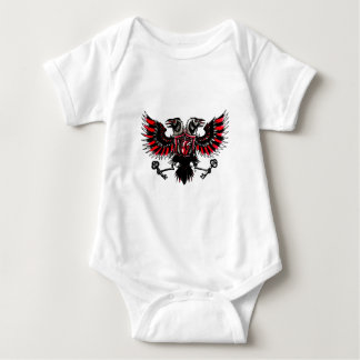 Crows and Hearts Baby Bodysuit