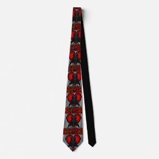 Crows And Hearts Tie