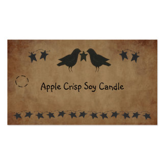 Crows and Stars Hang Tag Pack Of Standard Business Cards