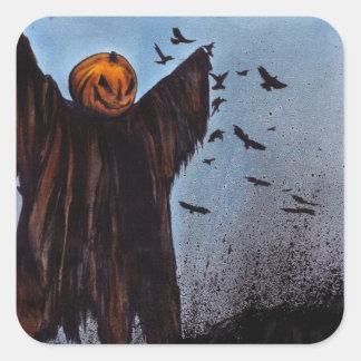 Crows Are Laughin' Square Sticker