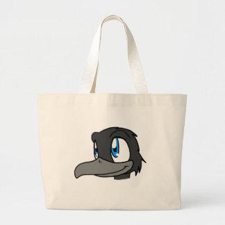 Crow's Head Jumbo Tote Bag