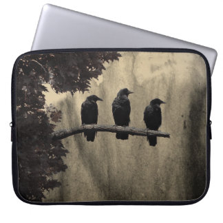 Crows In Nature Laptop Sleeve