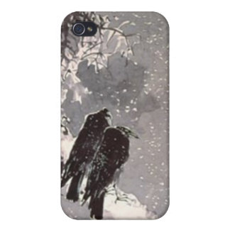 crows iPhone 4 cases